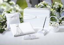 White 6 Piece Wedding Set